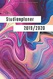 Studienplaner 2019/2020: Der ideale Kalender für Studenten | Semesterplaner, Timer, Terminkalender von Oktober 2019-Oktober 2020