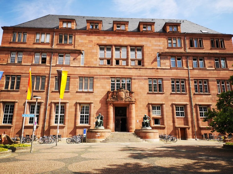 Eingang - Albert-Ludwigs-Universität Freiburg, Kollegiengebäude I (KG I)