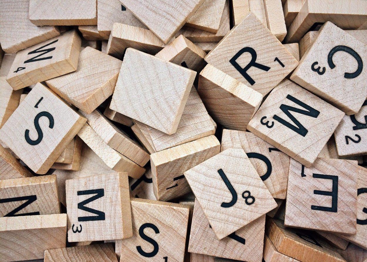 Buchstaben, Scrabble