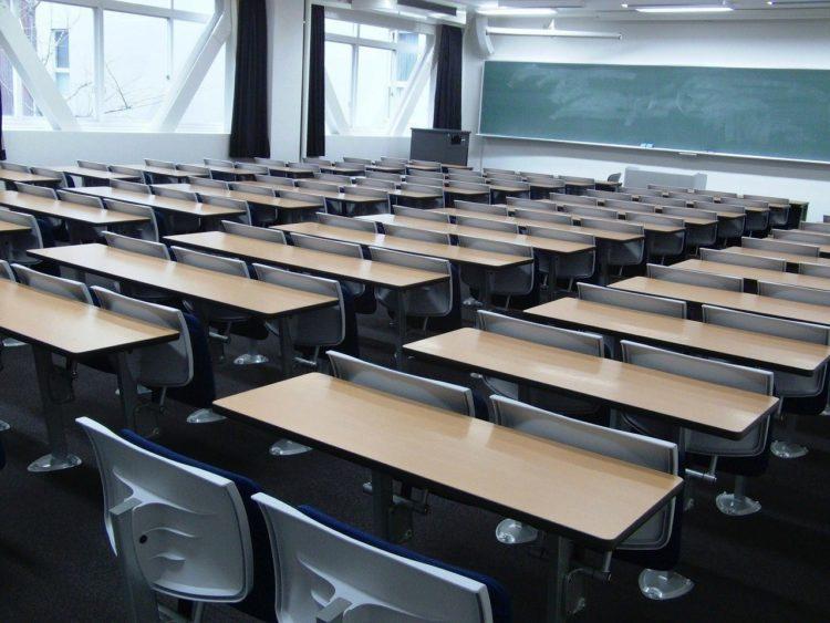 Hörsaal, Klassenzimmer