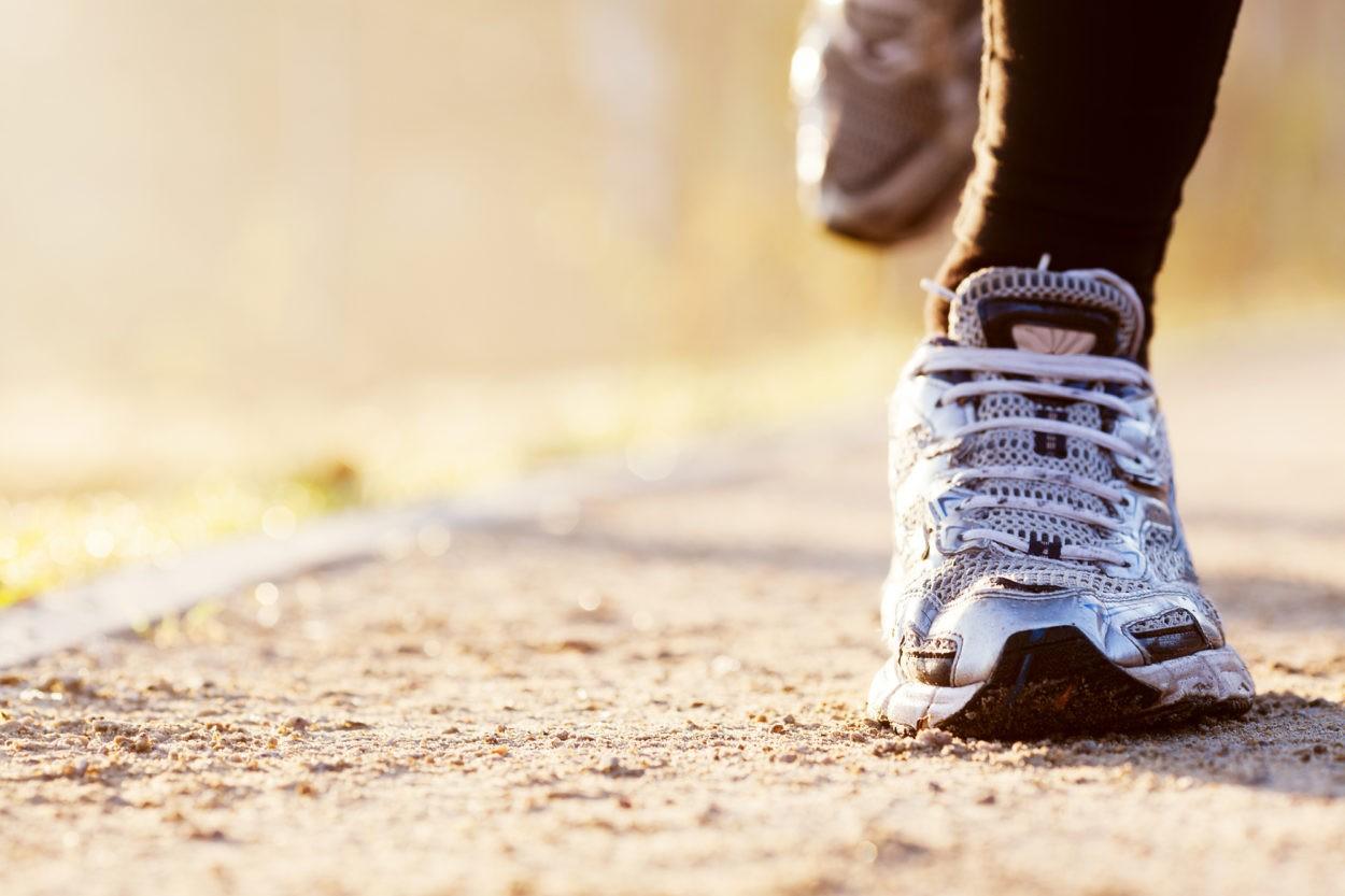 Morgensport, Laufschuhe, Bewegung