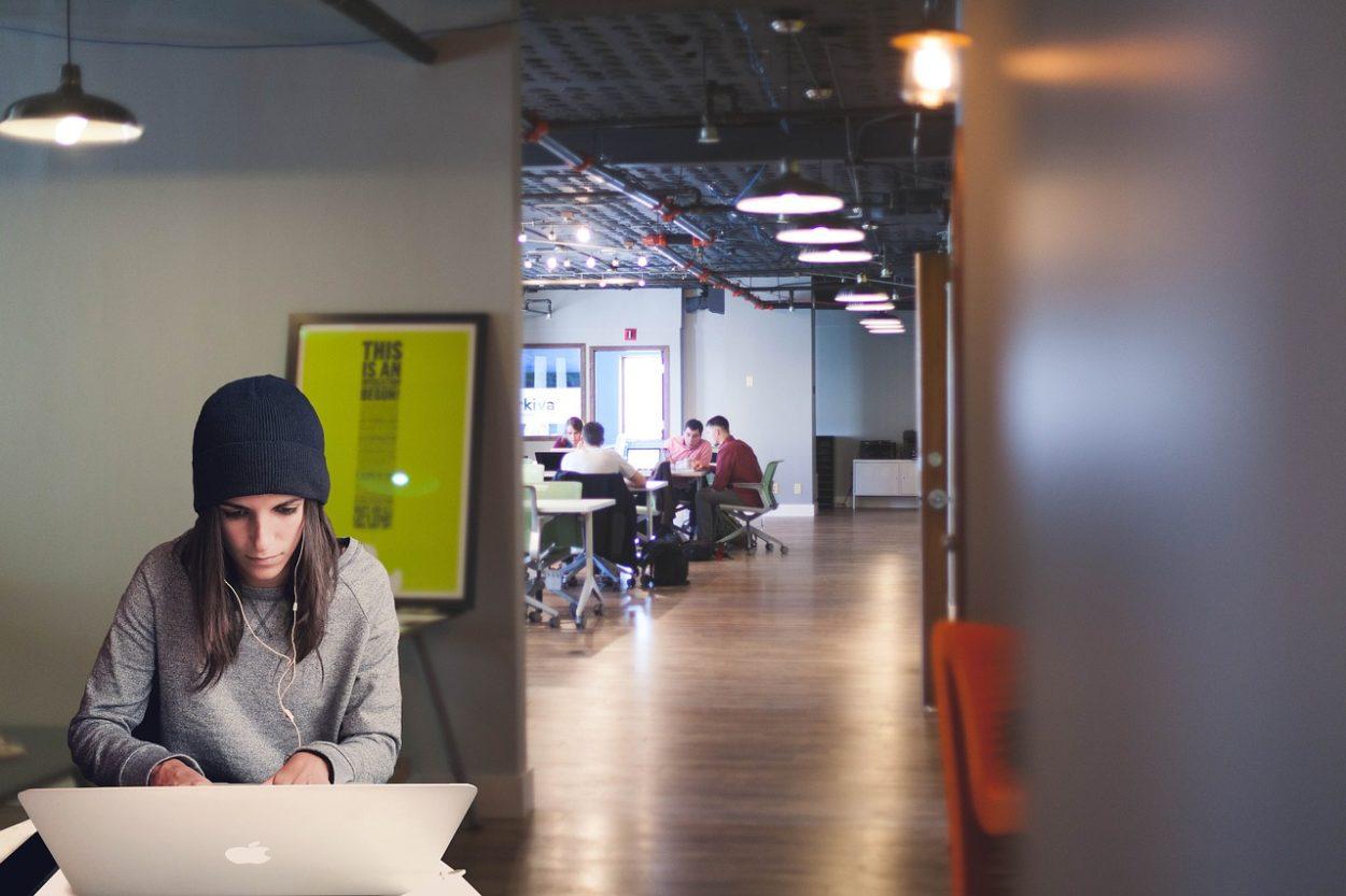 Coworking Space, einzeln oder Teamwork